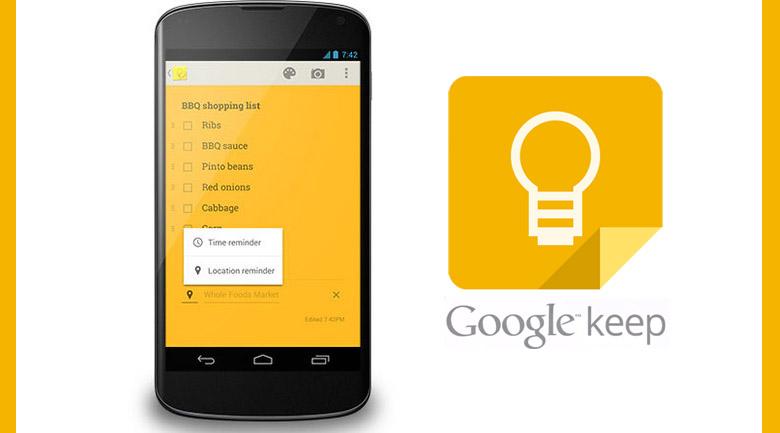 google-keep-app
