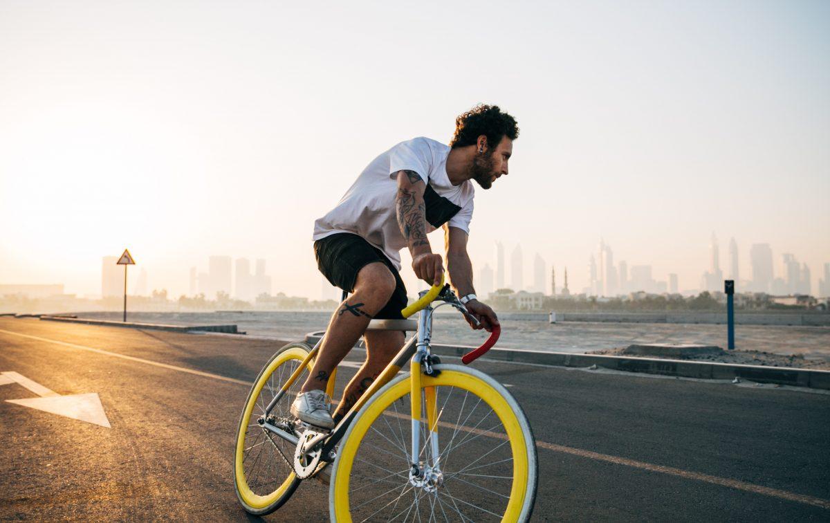 steentje bijdragen milieu fiets