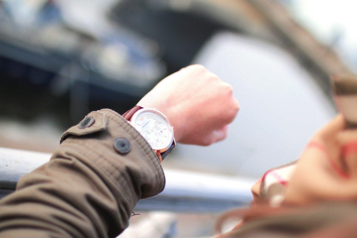nooit meer te laten komen horloge