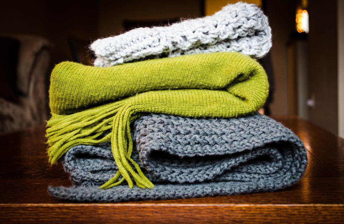 opwarmen in de winter dikke dekens