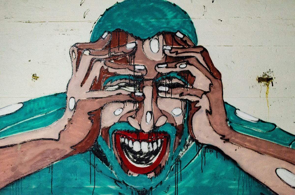 muurschildering in zweden