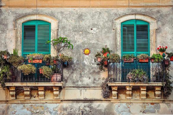 balkon op vrolijken tipify